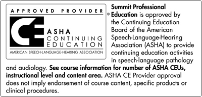 ASHA Continuing Education